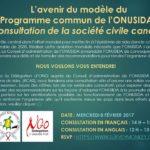 L'avenir du modèle du Programme commun de l'ONUSIDA : Une consultation de la société civile canadienne