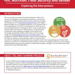 New Resource: HIV, Nutrition, Food Security and Gender: Exploring the Intersections