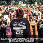 Health GAP (United States) adds Whatsapp and Twitter to its activist toolkit