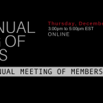 Join the ICAD Board of Directors - RSVP for the 2020 AGM