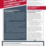 Deux nouveaux feuillets d'information de CHABAC portant sur La cascade de la participation VIH