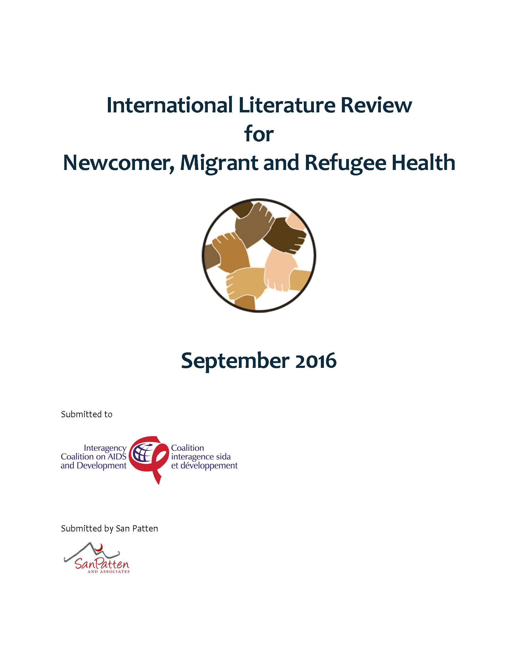International Literature Review for Newcomer, Migrant and ...