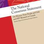 National Consensus Statement on Women, Trans People and Girls and HIV Research