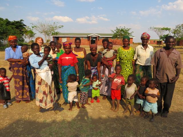 Malawian grandmothers and their grandchildren