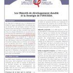 Les Objectifs de développement durable et la Stratégie de l'ONUSIDA