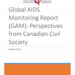 Global AIDS Monitoring Report (GAM): Perspectives from Canadian Civil Society