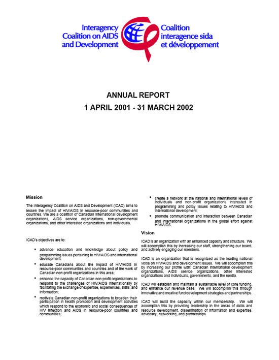 Annual Report 2001-2002